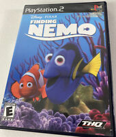 Playstation 2 Disney Finding Nemo Video Game  2003 Complete THQ Pixar Sony