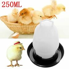 Automatic Poultry Feeder Drinker Waterer Chicken Aviary Bird Feeding Water Tools