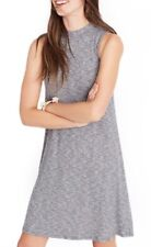 Madewell Rib Knit Swing Dress Gray Cute Casual Women's XL