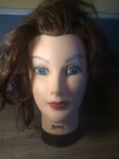 Celebrity DEBRA Mannequin Real Human Hair Cosmetology Practice Burmax