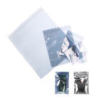 10Pcs ESD Anti-Static Shielding Bag Translucent Zip Lock Resealable Bags  QZ