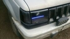 Jeep Grand Cherokee 93-98 Clear Polycarbonate Covers Headlight for retrofit.