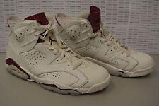 Nike Air Jordan 6 VI Retro Maroon 384664-116 Size 14 Free Shipping Nice Sneaker