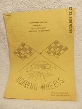 1966 Program Roaring Wheels Swim Show Huntington Beach Ca Marina H.S. With Names