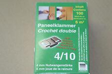 Paneelklammer  ideefixe Paneel Profilholz Befestigung System Wand Decke 4/10