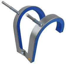 Robert Baraban Front Squat Harness, Front Kniebeugen Trainingsgerät, grau-blau