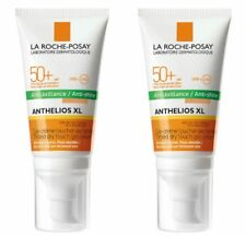 2 X La Roche Posay Anthelios XL Dry Touch TINTED Gel-Cream Face Anti-Shine SPF50