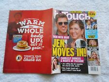 IN TOUCH  Magazine-APRIL 16,2018-JEN MOVES IN !-BACK WITH BRAD