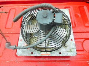"""DAYTON Electric 10"""" Exhaust Fan  with Shutters , 115 V  1 ph"""