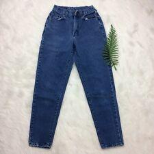 """Vintage 90s """"Mom"""" Riders Denim Women's Jeans SZ 7 MED Dark Wash 100% Cotton"""