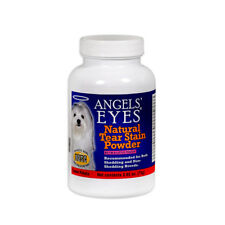 TEAR STAIN REMOVER ANGELS EYES NATURAL  ELIMINATOR POWDER FOR DOGS 75 gm/2.65 oz