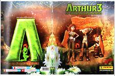 ALBUM PANINI ARTHUR 3 LA GUERRE DES DEUX MONDES ¤ 2010 ¤ COMPLET VIGNETTES