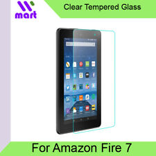 Amazon Fire 7 Tempered Glass Clear Screen Protector Compatible for Fire 7 2017 /