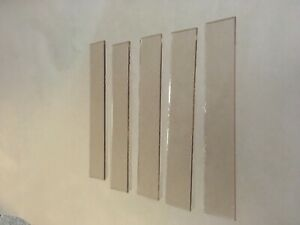 Parkray Glass Strips 255mm x 40mm pack of 5