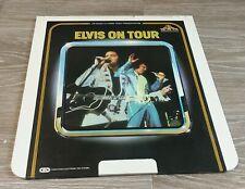 Elvis On Tour (Presley In Concert,Behind Scenes) CED RCA Selectavision VideoDisc