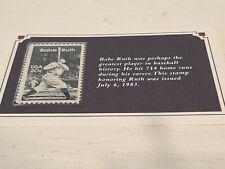 1983 USPS #2046 George BABE RUTH Herman Vintage stamp UH Yankees Baseball 50th