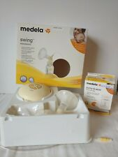 Medela Swing Single Electric Breast Pump Motor With Power Cord #67050 + Bags