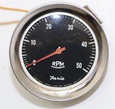 Faria 0 - 5000 RPM Tach Tachometer Gauge FREE Shipping!