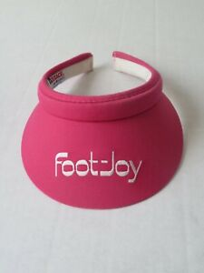 Vintage Texann by Texace Foot-Joy Womens Pink Golf Visor Hat