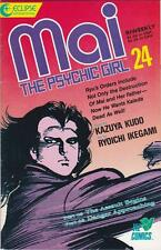 MAI the Psychic Girl #24: MANGA: Comic format: Eclipse 1988