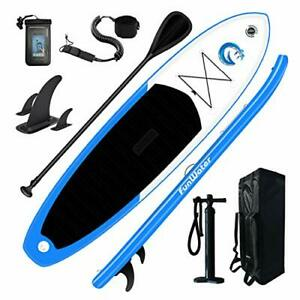 """All Round Paddle Board 11'Length 33"""" Width 6"""" Thick Inflatable Sup with"""