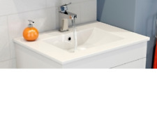 Basin Vanity bathroom Ceramic sink 600 X 460 X 18  (1744)