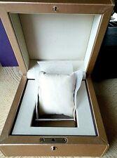 Glashütte Original watch box gold case with outer box