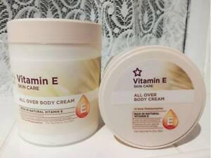 Vitamin E Skin Care All Over Body Cream Rich In Natural Vitamin E  For 475 ml