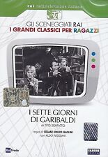 Dvd Sceneggiati Rai del Risorgimento **I SETTE GIORNI DI GARIBALDI** nuovo 1967
