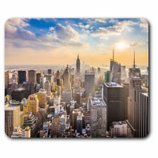 Computer Mouse Mat - New York USA Skyline Cityscape Office Gift #21938