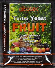 TOP Alcotec Fruit Turbo + Enzym Alkohol Gärhefe Hefe Brennhefe Destillation Obst