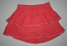 New Gymboree Coral Tiered Ruffle Swing Skirt Skort Size 3T NWT Tropical Breeze
