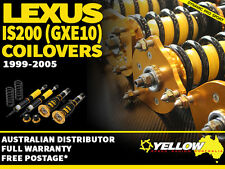 YELLOW-SPEED RACING COILOVERS Lexus IS200 (GXE10) 1999-2005 yellowspeed coil
