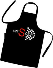 MINI S COOPER / Chefs / Cooks / Apron / Italian Job / Xmas / Birthday / Dinner