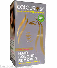 Colour B4 Hair Dye Colour Remover Extra Strength Hair Colour Stripper ColourB4