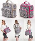 Flower Baby Diaper Nappy Backpack Shoulder Bag Mummy Bag Handbag Tote Travel Bag