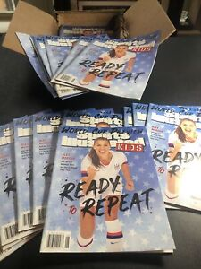 Lot of (25) Sports Illustrated for Kids June 2019 Alex Morgan Cover - Goff