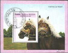Laos Bloc 158 oblitéré 1996 chevaux de trait