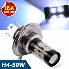 1x Autosaver 50W High Power H4 LED Cool White Car Fog Driving DRL Lights 9003 US