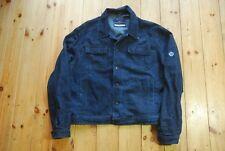 Men's Dark Blue Denim Henri Lloyd Jacket Casual Streetwear Style Large