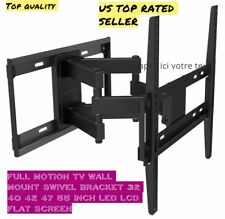 Tilt Swivel TV Wall Mount Bracket for  32 40 42 50 55 inch Flat Screen Led Lcd
