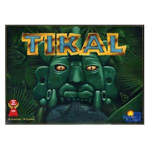 Rio Grande Games: Tikal, Explore Tikal In Search of The Secret Paths, Free Ship