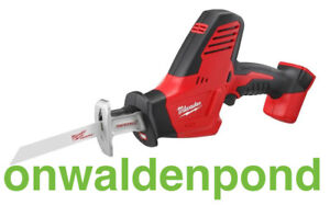 MILWAUKEE 2625-20 M18 18V CORDLESS HACKZALL RECIPROCATING SAW TOOL ONLY