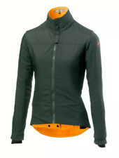 Castelli Women's Elemento Lite Jacket - Forest Grey - Medium - BNWT