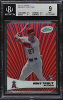 2011 eTopps Mike Trout Rookie Card /999 BGS 9 Mint LOW POP Extremely Rare SP