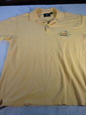 St121 Jimmy Buffet's Margaritaville Myrtle Beach Button Down Polo Shirt Large L