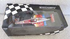 ALEX ZANARDI AUTOGRAPHED 1999 F1 FW21 MINICHAMPS 1:18 SCALE MODEL CAR