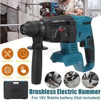 Electric Cordless Demolition Jack Hammer Impact Drill Concrete Breaker Punch Kit