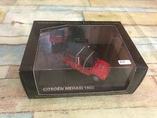 Voiture Miniature Citroen Mehari 1980 Pompiers Corse du Sud Norev CEC au 1/43