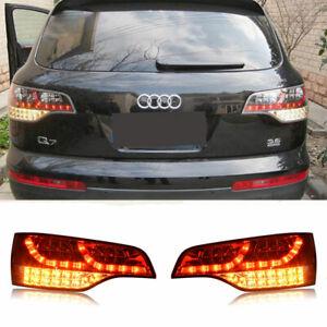 LED Tail Lights Rear Lamps PAIR Fits AUDI Q7 4L 2006-2010